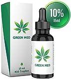 GREEN MED | 15 ml - 450 Tropfen | Premium Qualität | Kontrolliert &...