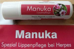 Manuka Lippenstift gegen Herpes