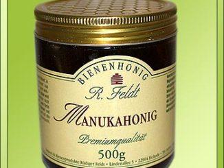 Manuka Honig Wirkung Glas 400+ 500g Bild